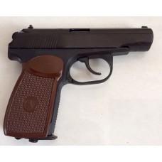 Пневматический пистолет Макарова ПМ ижевский механический завод Байкал МР-654К-28 доработанный .